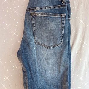 Urban Outfitters High-Rise Straight Chelsea Jeans